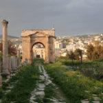 Jerash, pozostałości po Rzymie